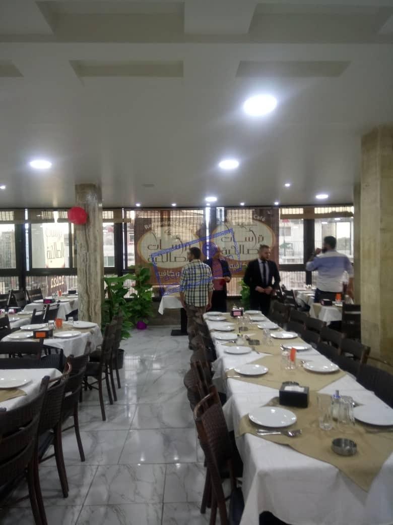 مطعم وكافيه للبيع أو الإيجار