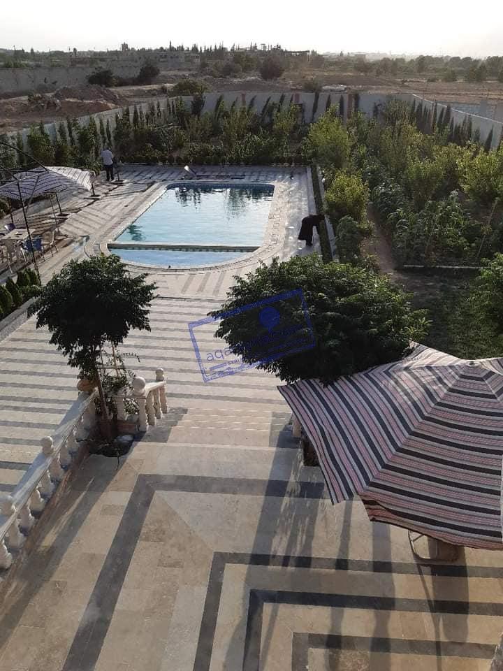 مزرعة للبيع ملكية طابو , حمام سباحة